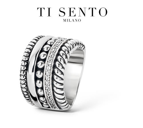 Ti Sento ring model 1835ZI